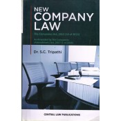 Dr. S. C. Tripathi's New Company Law by Central Law Publications