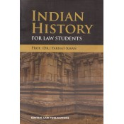 Central Law Publication's Indian History for Law Students by Prof. (Dr.) Farhat Khan
