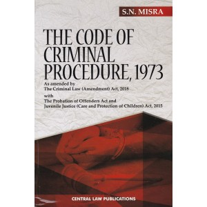 Central Law Publication's Code of Criminal Procedure, 1973 [Crpc] by S. N. Misra