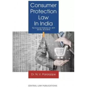 Central Law Publication's Consumer Protection Law in India by Dr. N. V. Paranjape