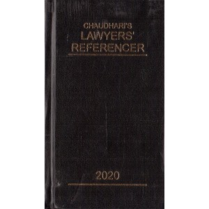 Chaudhari's Lawyer's Referencer 2020 (HB Pocket) | Advocate's Law Diary 2020