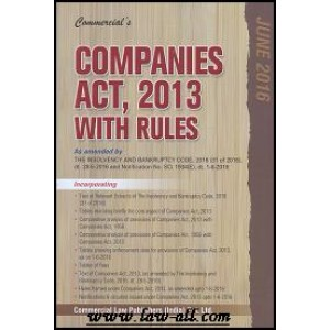 Commercial\'s Companies Act, 2013 with Rules