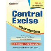 Commercial's Central Excise Ready Reckoner by R. Krishnan & R. Parthasarathy
