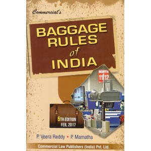 Commercial's Baggage Rules of India by P. Veera Reddy and P. Mamatha