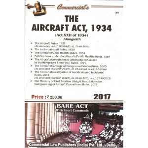 Commercial's The Aircraft Act, 1934 Bare Act