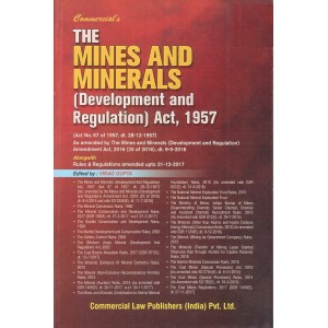 Commercial's The Mines and Minerals (Development and Regulation) Act, 1957 by Virag Gupta