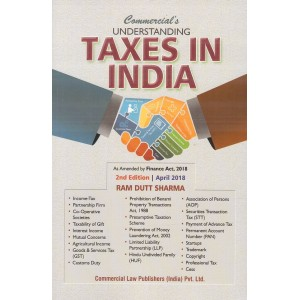 Commercial's Understanding Taxes in India by Ram Dutt Sharma