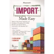 Commercial's Import Made Easy by P. Veera Reddy and M. Mamatha