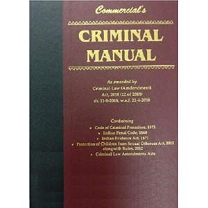 Commercial Law Publisher's Criminal Manual [HB]