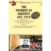 Commercial's The Payment of Gratuity Act, 1972 Bare Act