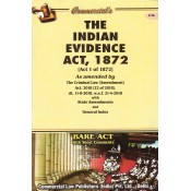 Commercial Law Publisher's The Indian Evidence Act, 1872 Bare Act