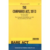 Commercial's The Companies Act, 2013 Bare Act with Short Comments
