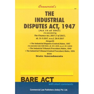 Commercial's The Industrial Disputes Act, 1947 Bare Act