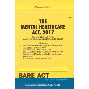 Commercial's The Mental Healthcare Act, 2017 Bare Act