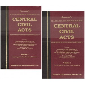 Commercial Law Publisher's Central Civil Acts (2 HB Volumes)