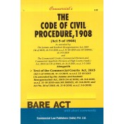 Commercial's The Code of Civil Procedure, 1908 [CPC] Bare Act