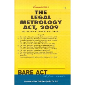 Commercial's The Legal Metrology Act, 2009 Bare Act