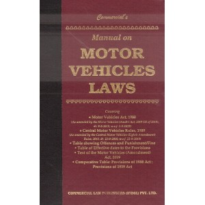Commercial's Manual on Motor Vehicles Laws [HB]