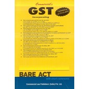 Commercial's GST Acts Alongwith Rules, 2017 [Bare Act] | Updated as on 15-12-2019