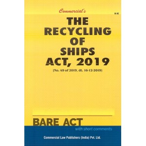Commercial's The Recycling of Ships Act, 2019 Bare Act