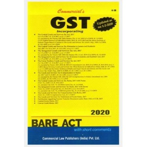 Commercial's GST Bare Act 2020