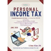 Padhuka's Personal Income Tax for F. Y. 2020-21 by G Sekar | Commercial Law Publishers