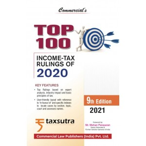 Commercial's Top 100 Income-Tax Rulings of 2020 [HB] by Taxsutra