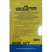 Commercial Law Publisher's The Code of Criminal Procedure, 1973 [CrPC] Bare Act