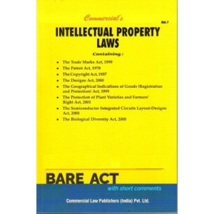 Commercial's Intellectual Property Laws Bare Act