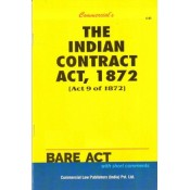 Commercial Law Publisher's The Indian Contract Act, 1872 Bare Act
