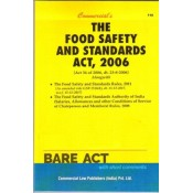 Commercial Law Publisher's The Food Safety and Standards Act, 2006 Bare Act 2021 [FSSAI]