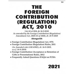 Commercial's The Foreign Contribution (Regulation) Act, 2010 Bare Act