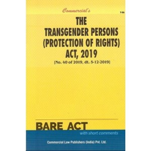 Commercial's The Transgender Persons (Protection of Rights) Act, 2019 Bare Act 2021