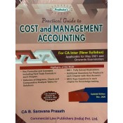 Padhuka's Practical Guide to Cost & Management Accounting for CA Inter May 2021 Exam (New Syllabus) by B. Saravana Prasath | Commercial Law Publisher