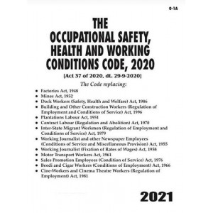 Commercial's Occupational Safety, Health and Working Conditions Code, 2020 Bare Act