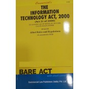 Commercial's Information Technology Act, 2000 with Allied Rules & Regulations  Bare Act 2021 | IT Act 2000