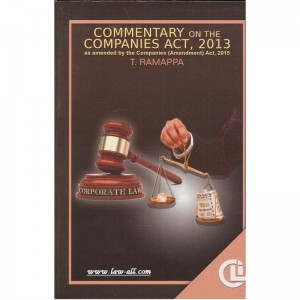 Company Law Institute's (CLI) Commentary on the Companies Act, 2013 Compiled by T. Ramappa