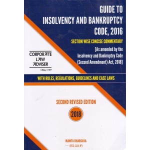 Corporate Law Adviser's Guide to Insolvency & Bankruptcy Code 2016 by Mamta Bhargava