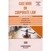 Corporate Law Adviser's Case Book on Corporate Law [HB] by CS. Mamta Bhargava