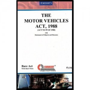 Current's Motor Vehicles Act, 1988- Bare Act