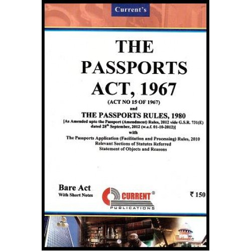Current's Passports Act, 1967- Bare Act