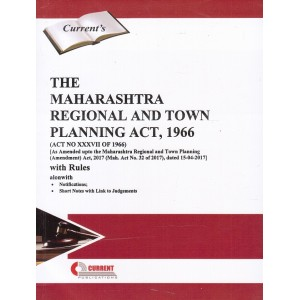 Current Publication's The Maharashtra Regional and Town Planning Act, 1966 [MRTP]