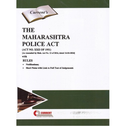 Current's The Maharashtra Police Act,1951