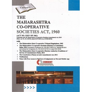 Current's The Maharashtra Co-operative Societies Act, 1960