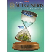 Deccan Inn's Sui Generis Law Journal 2017