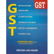 Deccan Law House's GST by N. Srinivasa Rao [2018-19]