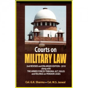 Deep & Deep Publication's Courts On Military Law [HB] by Col. G.K Sharma & Col. M.S.Jaswal
