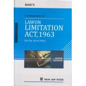 Basu's Commentary on Law on Limitation Act, 1963 by Delhi Law House [HB]