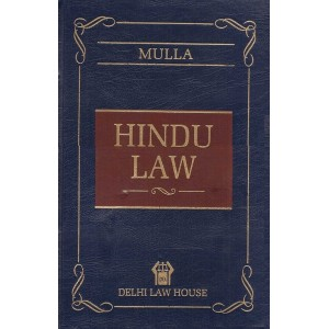 Mulla's Hindu Law [HB] by Dr. Neera Bharihoke, Dr. Bhagyashree Deshpande | Delhi Law House