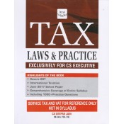 Tax laws & Practice Exclusively for CS Executive by CA. Deepak Jain for Divya Vasudha Publication